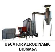 Uscator aerodinamic biomasa