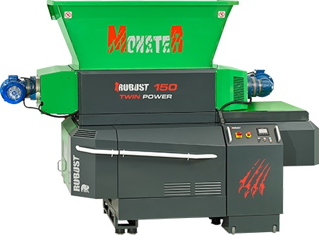 Tocator Monster Robust P150 Twin Power + Shredder SD90XL