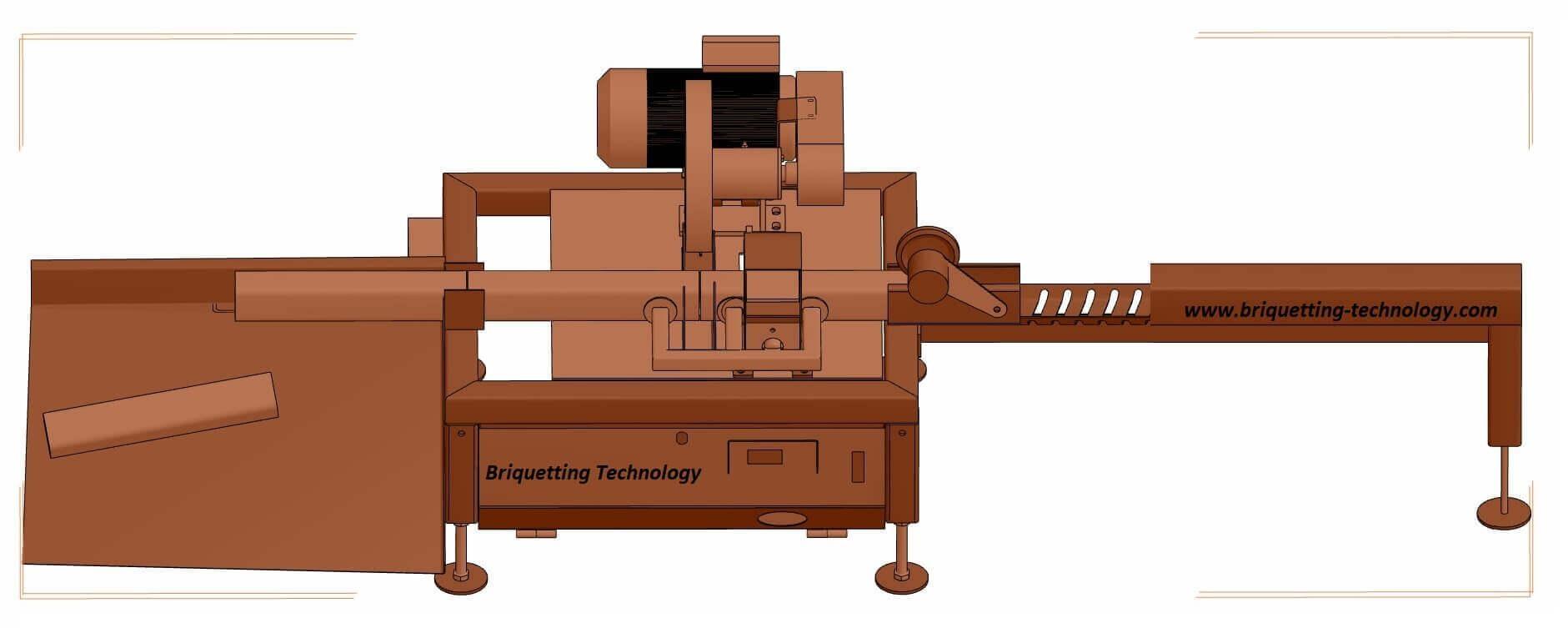 Taietor brichete lungime automatizat